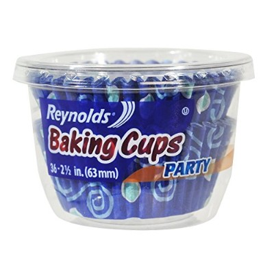 Reynolds Baking Cups (Party Variety Pack, 36 by Reynolds