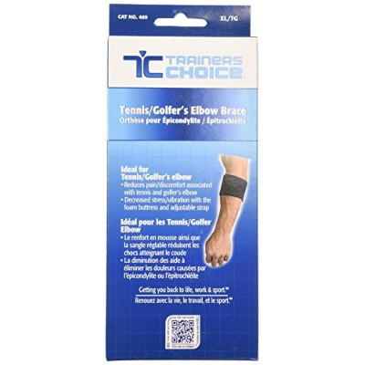 Trainer's Choice Tennis and Golfer's Elbow Cuff, X-large by Trainer's Choice