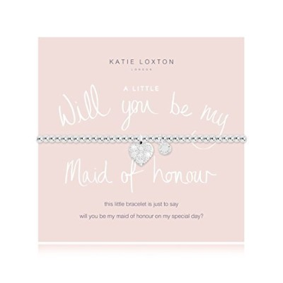 Katie Loxton – A Little Will You Be Myメイドの名誉の – ブレスレット