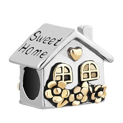 Roy Lopez Sweet Home Family Houseのチャームビーズブレスレット