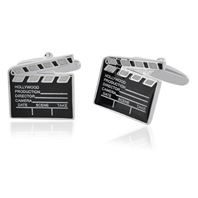 Movie clapper board cufflinks Hollywood Director Film Producer