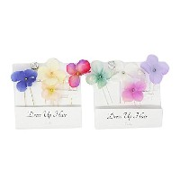 airy flower Uピンセット 【zoule/ゾーラ】 SILVER