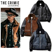 "【2018AUTUMN & WINTER COLLECTION 先行予約 2018年10月中入荷予定】【CRIMIE】クライミー/""B3 MOUTON LEATHER JACKET"" C1H5..."