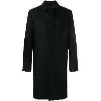 Valentino longsleeved double breasted coat - ブラック