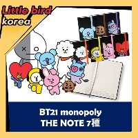 【BT21 公式】 2018 新商品 BT21 monopoly THE NOTE 7種