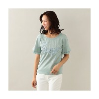 TO BE CHIC/TO BE CHIC  コットンポンチ刺繍カットソー エメラルド 【三越・伊勢丹/公式】 レディースウエア~~Tシャツ~~その他