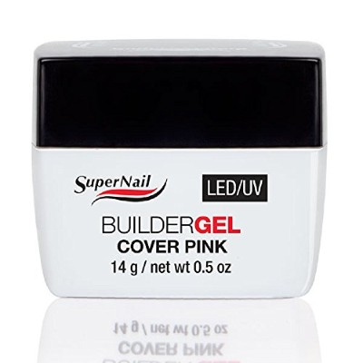 Supernail LED/UV Builder Gel Cover Pink - 0.5oz / 14g