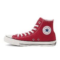 CONVERSE(コンバース) オールスター スニーカー ハイカット CONVERSE ALL STAR 100周年 100 COLORS HI Red 4.5(23.5cm)