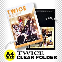TWICE クリア フォルダー/ファイル (Clear Folder/File) [A4 SIZE] グッズ