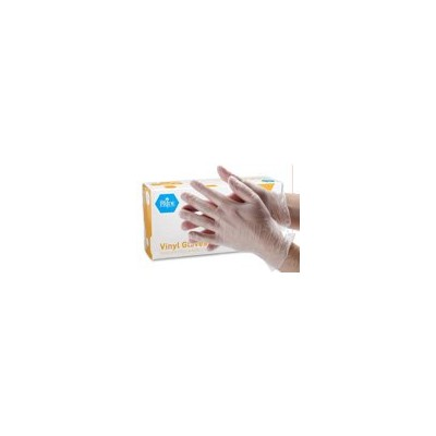 MedPride Powder-Free Vinyl Exam Gloves, Small, Box/100 by MedPride
