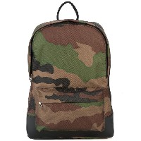 A.P.C. camouflage print backpack - グリーン