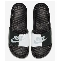 NIKE ナイキ メンズ サンダル ベナッシ NIKE Benassi JDI Slide Black Pure Platinum White 343880 015