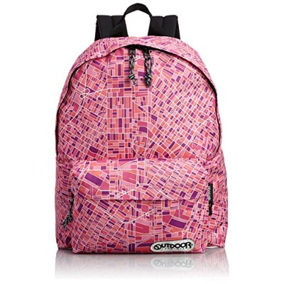 [アウトドアプロダクツ] OUTDOOR PRODUCTS DAYPACK 452U LMP (LA MAP PURPLE)