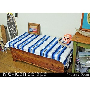 RUG&PIECE Mexican Serape made in mexcico ネイティブ メキシカン サラペ メキシコ製(rug-6095)