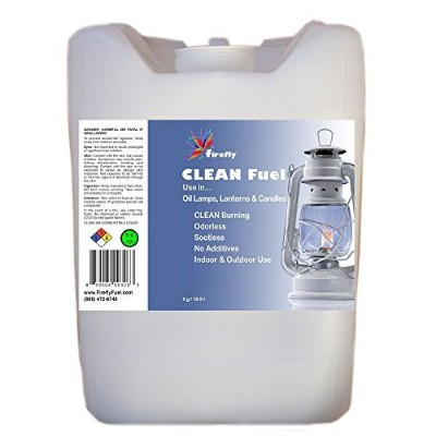 Firefly クリーン燃料ランプオイル 5 Gallons clean-5