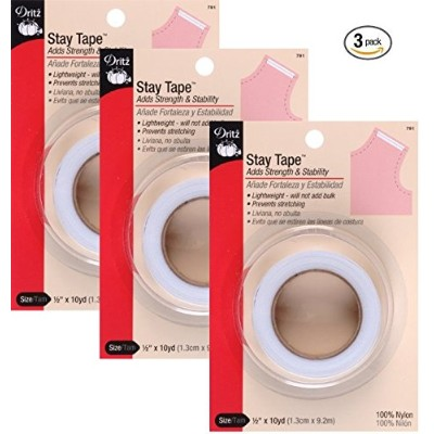 (3 Pack) - Dritz 2010cm by 10-Yard Stay Tape (3 Pack)