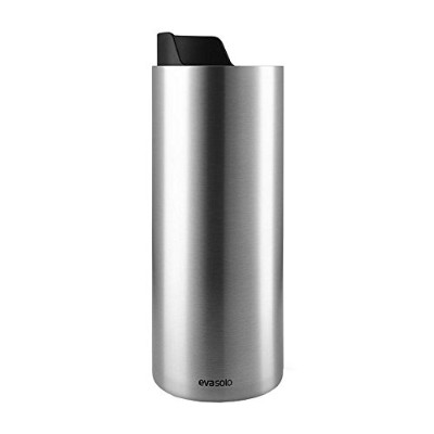 (Black/Stainless Steel) - Eva Solo Urban To Go Cup Thermo Cup black/stainless steel/H 19cm/O 7cm