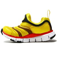 【17.0ー22.0cm】[キッズ] NIKE DYNAMO FREE (PS) ナイキ ダイナモ フリー PS TOUR YELLOW/BLACK-SPEED RED-ALE BROWN