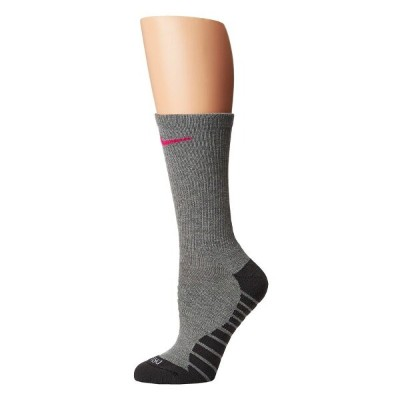 ナイキ レディース インナー・下着 ソックス【Dry Cushion Crew Training Socks 3-Pair Pack】Carbon Heather/Anthracite/Vivid...