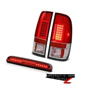 テールライト 2008-2010 Ford F250 SuperDuty 6.3L LED Parking Signal Tail Lights 3rd Brake Red 2008-2010...
