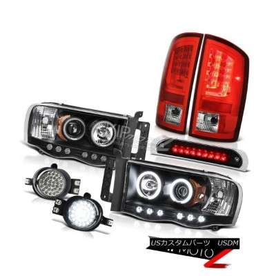 テールライト 02-05 Ram 1500 2500 3500 5.7L Taillamps Third Brake Light Headlights Foglamps 02-05ラム1500...