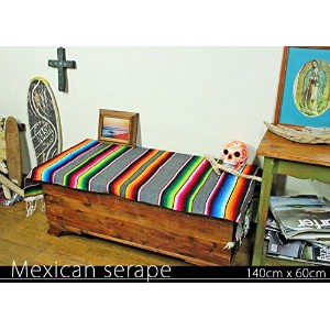RUG&PIECE Mexican Serape made in mexcico ネイティブ メキシカン サラペ メキシコ製(rug-6079)