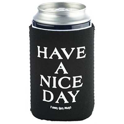 Funny GuyマグカップHave A Nice / Glorious DayネオプレンCoolies One Size ブラック 1FGM25