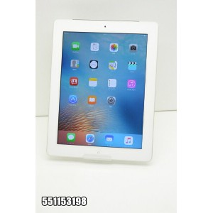 白ロム SoftBank apple iPad3+Cellular 16GB iOS9.3.5 ホワイト MD369J/A 初期化済 【551153198】 【中古】【K20180616】