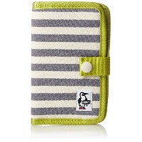 [チャムス] スマートフォンケース Notebook Style Mobile Case Sweat CH60-2361-A047-00 W032 White-Gray
