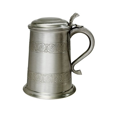 Wentworth Pewter - Medieval Antique Finish Pewter 1 Pint Tankard