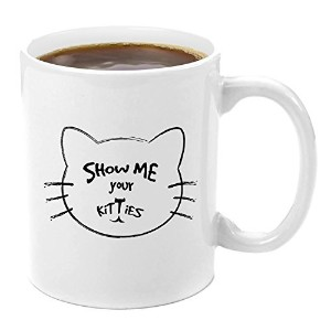 Show Me Your Kitties  プレミアムコーヒーマグギフトセット–Kittyマグギフトセット、マグカップFunny Catことわざ、Give Me Yourミルク、Your Cat...
