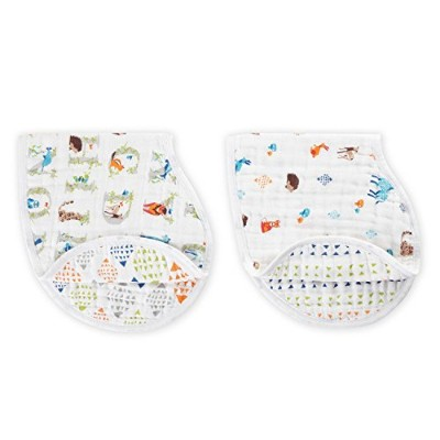 aden + anais Classic Burpy Bib 2 Pack, Paper Tales by aden + anais