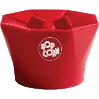 Chef'n PopTop Microwave Popcorn Popper (Cherry) by Chef'n