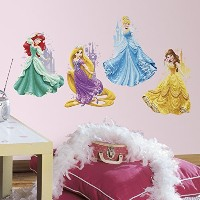 """RoomMates RMK2772TBディズニープリンセスと城Peel and Stick Giant Wall Decals、18 """"x 40"""""""