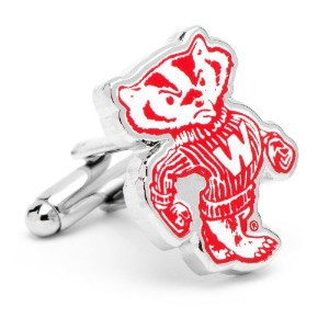 NCAAヴィンテージCollege Cufflinks ( pd-vncaa-sl-p ) Wisconsin Badgers