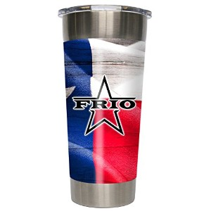 Frio 24 – 7 Tumbler with TexasビニールWrapped Cup