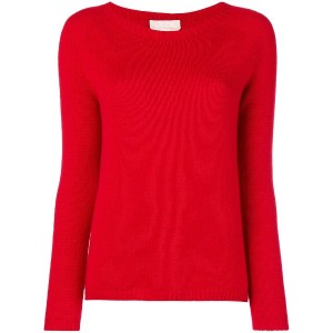 'S Max Mara classic fitted sweater - レッド