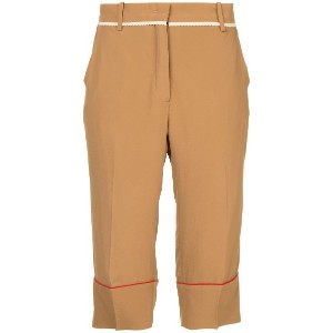 No21 cropped trousers - ブラウン
