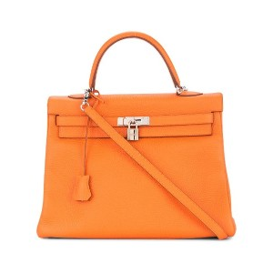 Hermès Pre-Owned Kelly 35 トートバッグ - イエロー