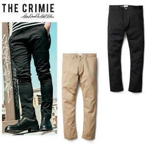 "【2018AUTUMN & WINTER COLLECTION 先行予約 2018年8月中入荷予定】【CRIMIE】クライミー/""LEX STRETCH CHINO PANTS"" C1H5-CXLX..."