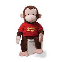 GUND Curious George T-Shirt Stuffed Animal, 36 inches [並行輸入品]