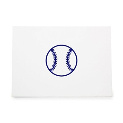 Baseball Ball Game Sport Balls Style 7202, Rubber Stamp Shape great for Scrapbooking, Crafts, Card...