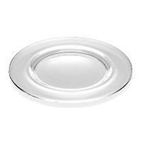 Barski - European Glass - Classic Look - Clear - Charger - Plate - 32cm Diameter - Made in Europe -...