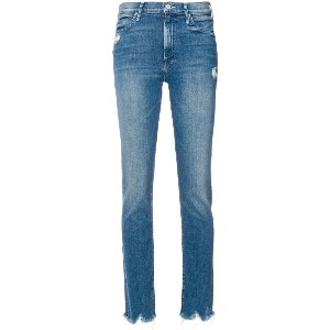 Mother distressed skinny jeans - ブルー