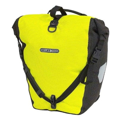 オートリービー ユニセックス 自転車【Back Roller High Visibility Pannier Bag】Neon Yellow / Black Reflective