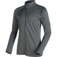 マムート その他トップス Runbold Pro Half Zip Top - Long - Sleeves Graphite Melange