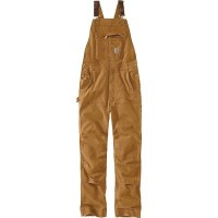カーハート オーバーオール Rugged Flex Rigby Bib Carhartt Brown