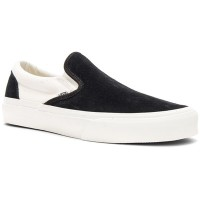 ヴァンズ スリッポン・フラット Native Embroidery Classic Slip-On Black & Marshmallow