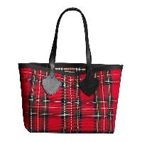 Burberry reversible vintage check tote bag - レッド