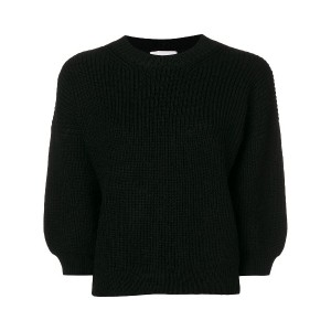 3.1 Phillip Lim ribbed crew neck sweater - ブラック